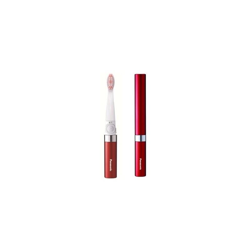 Panasonic ewds90r503 brosse dents de voyage rouge - Brosse a dent electrique de voyage ...